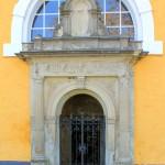 Sachsendorf, Ev. Pfarrkirche, Portal