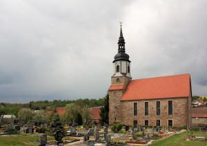 Saubach, Ev. Kirche St. Jacobi
