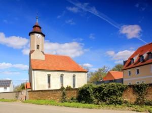 Sausedlitz, Ev. Pfarrkirche