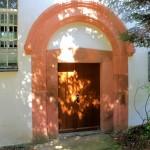 Schönerstädt, Ev. Pfarrkirche, Portal