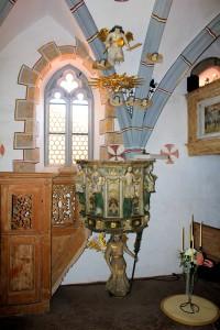 Schönfels, Burgkapelle Burg Altschönfels