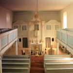 Seifertshain, Ev. Pfarrkirche, Kanzelaltar
