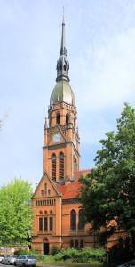 Sellerhausen-Stünz, Ev. Emmauskirche Stünz