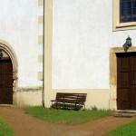 Tellschütz, Ev. Pfarrkirche, Portale