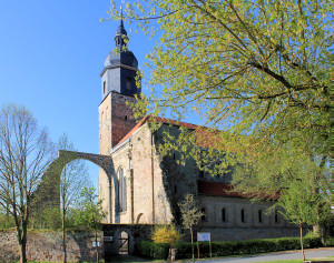 Thalbürgel, Ev. Pfarrkirche St. Georg (ehem. Benediktiner-Klosterkirche)