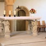 Torgau, Schlosskapelle, Altartisch