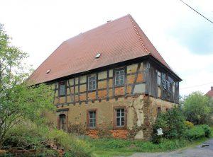 Pfarrhaus Trages (Zustand August 2014)