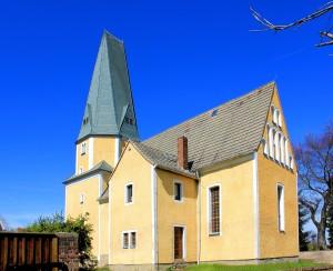 Trautzschen (Elstertrebnitz), Ev. Pfarrkirche