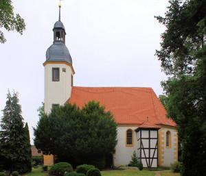 Triestewitz, Ev. Pfarrkirche