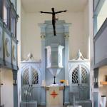 Weischütz, Ev. Kirche, Altar