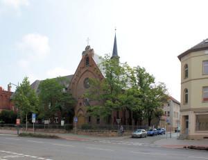 Weißenfels, Kirche des Diakonischen Vereins St. Laurentius
