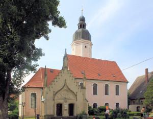 Wellerswalde, Ev. Pfarrkirche