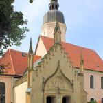 Wellerswalde, Ev. Pfarrkirche, Grabkapelle