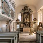 Weßmar, Ev. Kirche, Altar