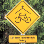 Radfahrerkirche Weßnig am Elberadweg