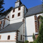 Wickershain, Ev. Marienkirche, Chorturm