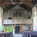 Wörblitz, Ev. Pfarrkirche, Schiff und Orgel