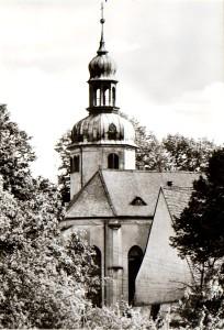 St. Bartholomäuskirche Wolkenstein, Postkarte 1980er Jahre