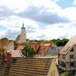 Wurzen, Ev. Wenceslaikirche, Altstadt und Turm