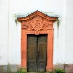 Zedtlitz, Ev. Pfarrkirche, Portal