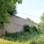 Zeitz, Kloster Posa, Klostermauer