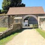 Zella, Kloster Altzella, Klostertor (Hofseite)