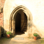 Zella, Kloster Altzella, Portal am Konversenhaus