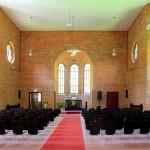 Zschadraß, Anstaltskirche, Kirchenraum und Chor
