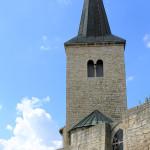 Zscheiplitz, ehem. Benediktinerinnen-Kloster, Turm der Klosterkirche
