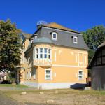 Rittergut Kitzen, Herrenhaus Ostseite