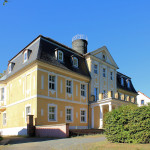 Rittergut Kitzen, Herrenhaus Parkseite