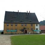 Nach der Reformation in einen Gutshof umgewandelt, Klosterbuch bei Leisnig