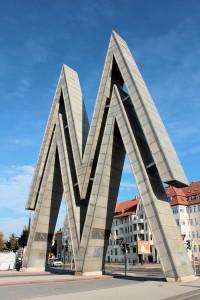 Doppel-M an der Alten Messe Leipzig