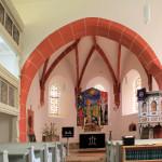 Chor der Kirche in Nepperwitz an der Mulde