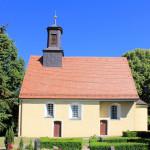 Kirche in Ochsensaal in der Dahlener Heide