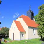 Kirche in Olganitz in der Dahlener Heide
