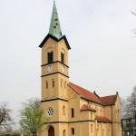 Katholische Herz-Jesu-Kirche in Roitzsch bei Wurzen