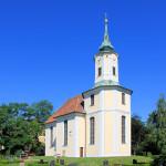 Kirche in Schmannewitz in der Dahlener Heide