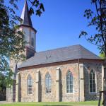 Kirche in Kleinpösna bei Leipzig