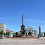 Der Augustusplatz in Leipzig