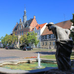 Marktplatz in Dahlen