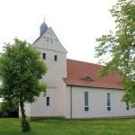 Kirche in Schirmenitz an der Elbe