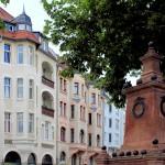 Grafisches Viertel, Chopinstraße, Kugeldenkmal