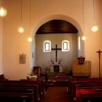 Leipzig, Kirche Hohen-Thekla, Schiff und Chor