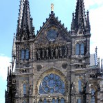 Leipzig, Peterskirche, Hauptfront