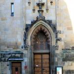 Leipzig, Thomaskirche, Portal Südseite
