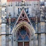 Leipzig, Thomaskirche, Portal Westseite