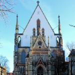 Leipzig, Thomaskirche, Westfront