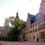 Leitzkau, Schloss Neuhaus, Hofansicht