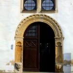 Leitzkau, Schloss Neuhaus, Portal